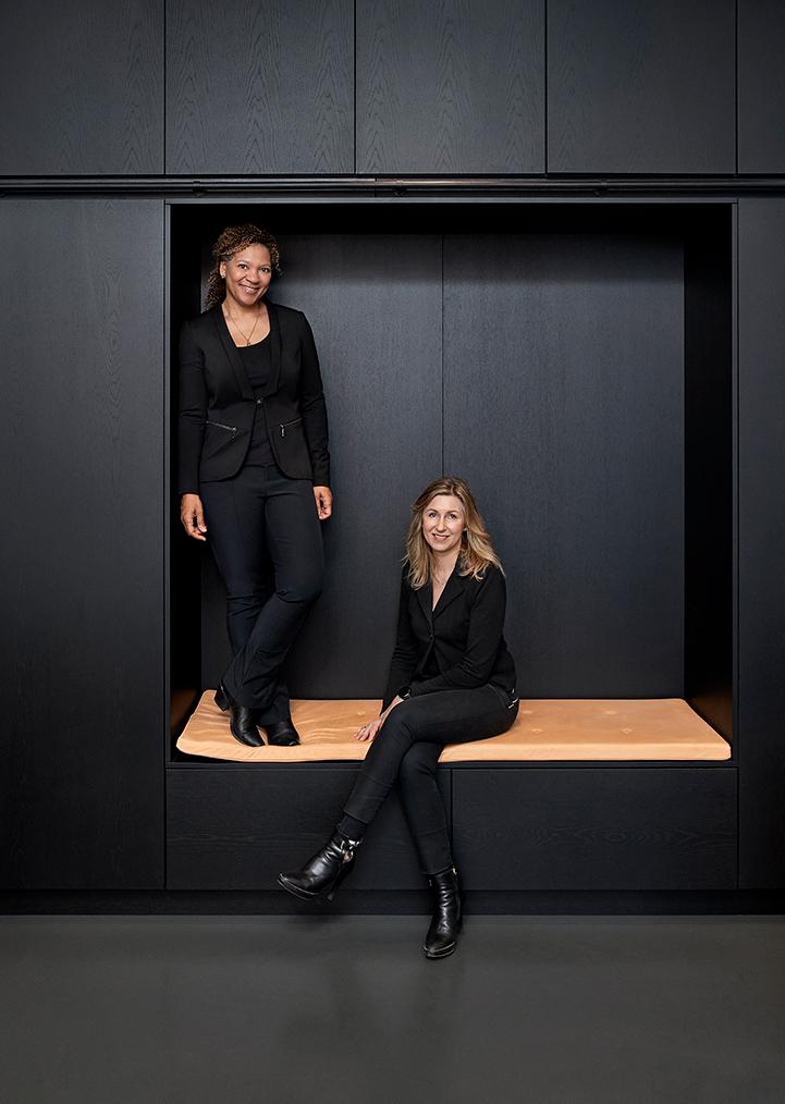 Billede af Karin & Dorte, indehavere af KUBIK Indretning